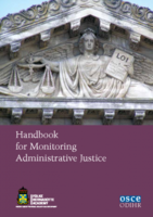Handbook for Monitoring Administrative Justice