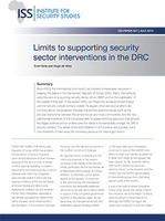 Limits to Supporting Security Sector Interventions in the DRC
