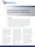 Strengthening Prosecutorial Accountability in South Africa