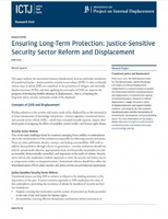Ensuring Long-Term Protection: Justice-Sensitive Security Sector Reform and Displacement