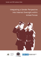 Integrating a Gender Perspective into Internal Oversight within Armed Forces