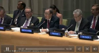 Ban Ki-moon (UN Secretary-General), Presentation of the Plan of Action to Prevent Violent Extremism