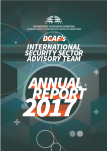 Annual Report front cover April 2018