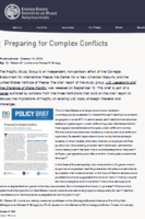 complex conflicts